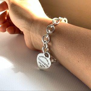 Tiffany & Co. Jewelry - Tiffany & Co. Heart Tag Charm Bracelet